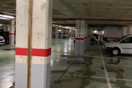 EPIC Ibiza denuncia el desinterés de Vila ante las goteras en el 'parking' de sa Colomina