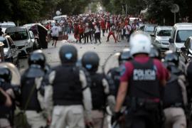 Madrid se blinda con 2.000 policías para el River-Boca