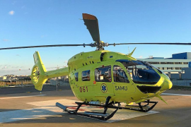 La nueva empresa del transporte aéreo sanitario empieza a trabajar con nuevos profesionales