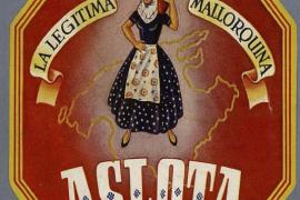 Cartel que anunciaba en México en el siglo XIX la auténtica ensaimada de Mallorca