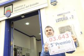 Menorca Quinto premio Quint premi Sorteo Loteria Navidad Sorteig N