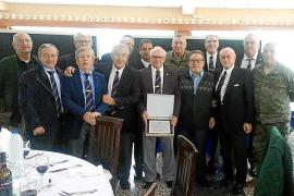 Comida de la Asociación de Infantes de Mallorca y del Regimiento de Infantería Palma 47