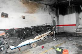 «Fue un susto enorme porque el humo lo invadió todo y desconocíamos la gravedad del incendio»