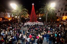 Santa Eulària ya respira Navidad