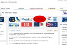 La web de la Agencia Tributaria ya recoge el formulario de devolución del IRPF