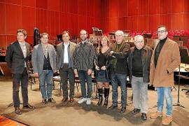 Carlos Forteza, Pablo Mielgo, Francesc Miralles, Pere Víctor Rado, Fanny Tur, Antoni Parera Fons, Guillem Frontera y Pere Bonet,