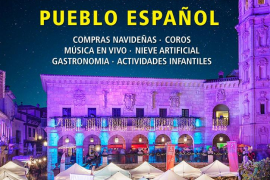 El Pueblo Español de Palma celebra su tradicional mercado de Navidad