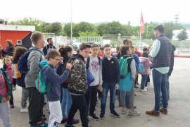 Alumnes del CEIP Ses Roques de Caimari varen visitar RCD Mallorca i Grup Serra Tipo de adjunto: