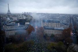 París cierra sus atracciones turísiticas de cara a una nueva jornada de disturbios de los «chalecos amarillos»