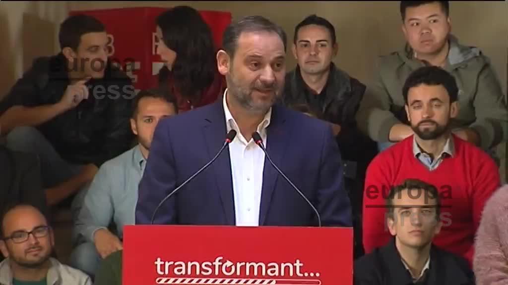 """Ábalos alerta de la tolerancia que hay hacia Vox y de su """"discurso fascista"""""""