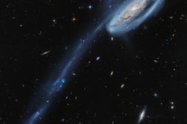 Los astrónomos de Ibiza reaparecen como autores de la 'Imagen del Día' de la NASA