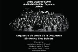 Concierto benéfico de la Orquestra Simfónica a favor de la AECC y Amics de la Infància