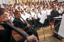Música intergeneracional para dar la bienvenida a la Navidad en Sant Josep