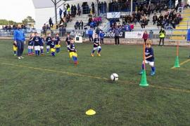 Sant Rafel acoge la primera diada de escuelas de fútbol