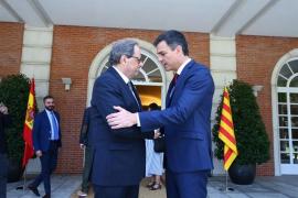 El Gobierno ofrece una reunión a Quim Torra el 21D en Barcelona