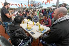 Los morteros protagonizan el mercado de Forada por el Aliolis Festival 2018