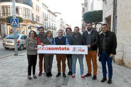 Presentación de la campaña del PSOE de Inca