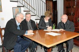 Firma del convenio de cesión de la residencia de Porreres