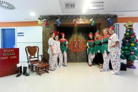 El ambiente navideño ya se respira en el Área de Salud de Ibiza y Formentera