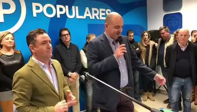 Vicent Marí, candidato del PP al Consell d'Eivissa y Marí Bosó, a la alcaldía de Vila