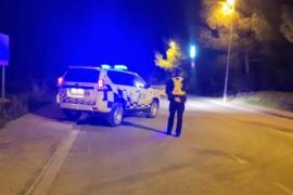 La Policía Local de Sant Josep denuncia a trece conductores por alcohol o drogas