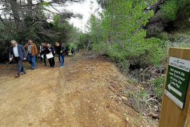El sendero turístico de Labritja ya es transitable a pie o en bicicleta
