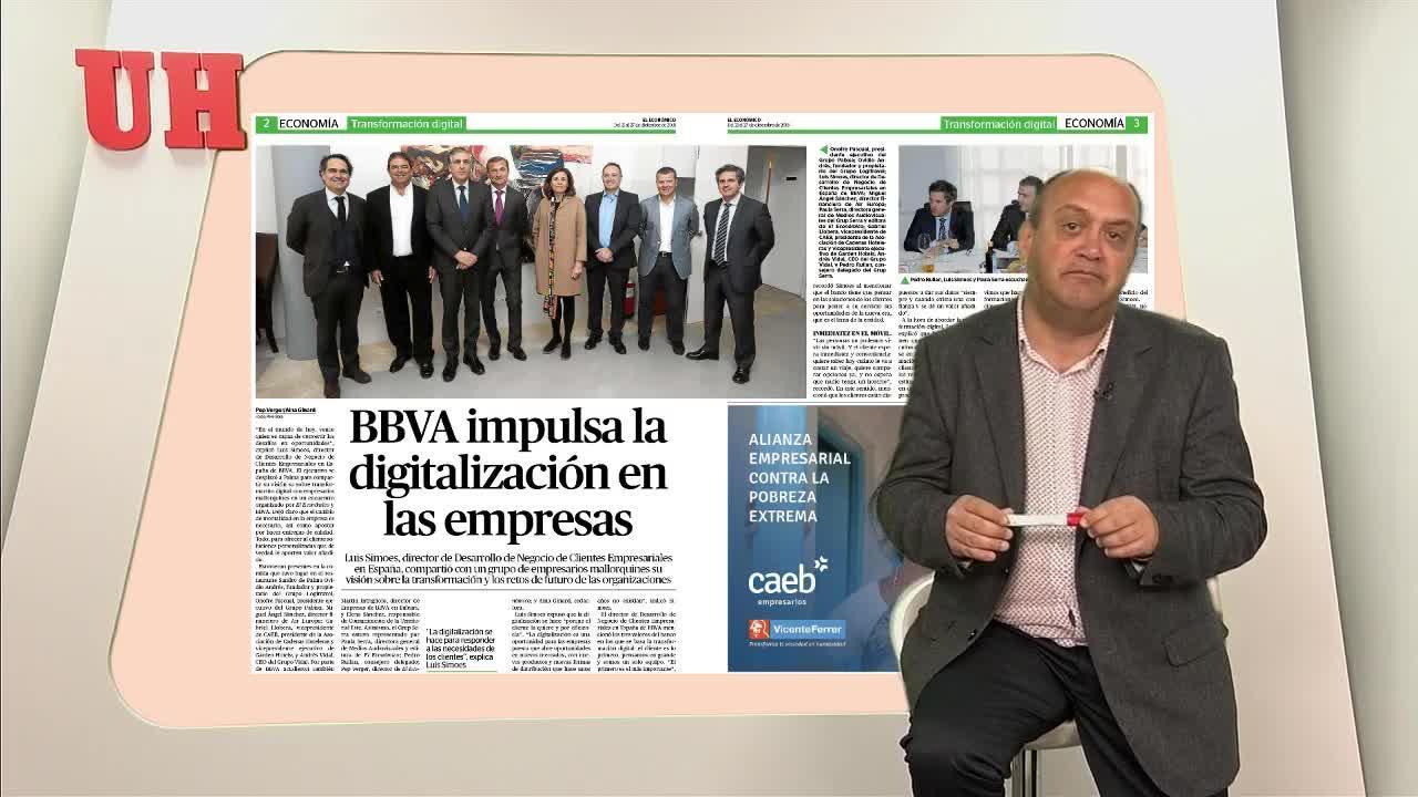 BBVA impulsa la digitalización en las empresas