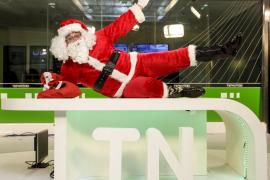 Papá Noel: «Hay que ser conscientes de que a otros niños les llevo como regalo un trozo de pan»