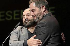 Jordi Cuixart, en los premios de la OCB: «No vamos a renunciar a vivir en paz y en libertad»
