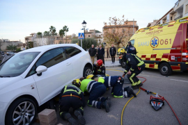 Un conductor atropella a una anciana en Andratx y se da a la fuga a pie
