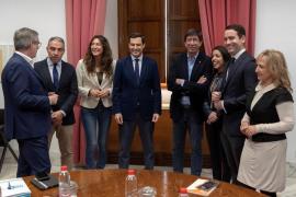 Negociación para la constitución del Parlamento de Andalucía
