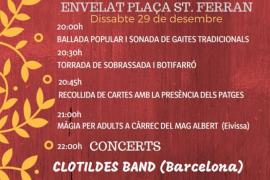 Música, tradiciones, 'botifarró', 'sobrassada' y pajes reales este sábado en Formentera