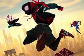 Cartel de: Spiderman: un nuevo universo