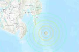 Levantada la alerta de tsunami por el seísmo en Filipinas