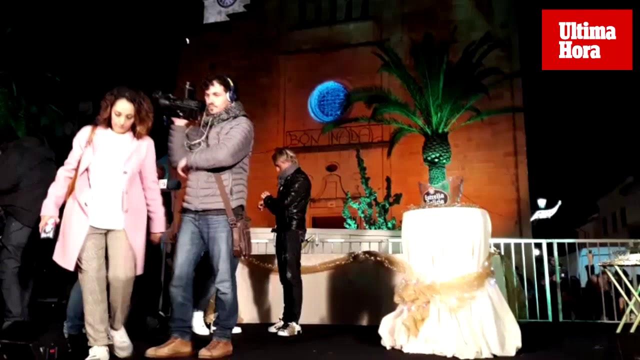 Máxima expectación en Sant Llorenç por las Campanadas de Telecinco