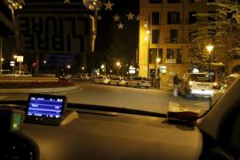 Los ladrones, al taxista agredido en Cala Major: «Lo siento, pero te vamos a atracar»