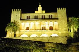 Vista del Palacio de la Almudaina