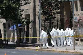 Cinco heridos por explosión en una parada de autobús en centro de Santiago