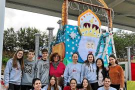 La Associació Reis Mags y los Reyes Magos ultiman codo con codo su llegada a Formentera