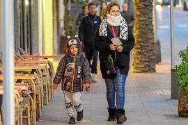 Ibiza registró ayer una temperatura mínima de 0,6 grados centígrados