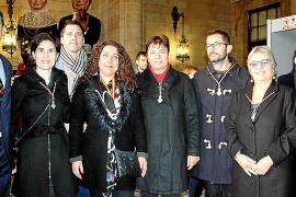 Palma celebra la Festa de l'Estendard