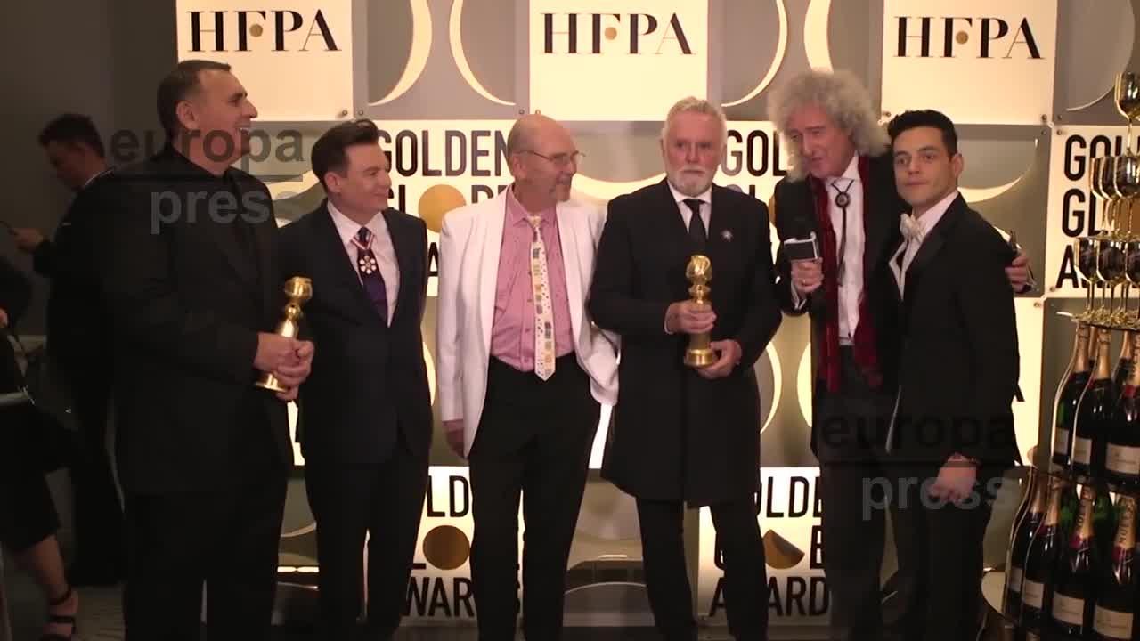 'Bohemian Rhapsody', 'Roma' y 'Green Book', triunfadoras en los Globos de Oro 2019