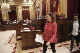 Armengol quiere candidatos socialistas 'sacrificables' en el Consell y Cort para ceder las presidencias a PI y Més