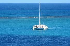 El catamarán, el otro príncipe de Ibiza