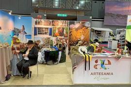 La artesanía ibicenca se promociona en la feria internacional de Utrecht