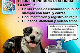 Sant Josep pone en marcha una campaña para controlar perros potencialmente peligrosos
