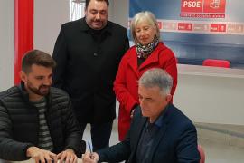 Vicent Torres 'Benet' formaliza su precandidatura para encabezar la lista del PSOE en Santa Eulària