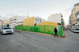 Santa Eulària instalará un jardín vertical en el solar municipal de la calle del Sol