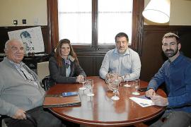 Reunión del Grup Güell con el Consell de Mallorca