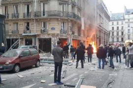 Explosión en una panadería de París